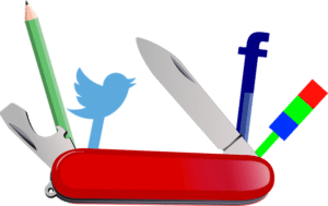 social media tools swiss army knife